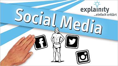explainity® Erklärvideo - Social Media einfach erklärt - Ein Unterrichtsmedium auf DVD