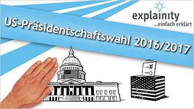 explainity® Erklärvideo - US-Präsidentschaftswahl 2016/2017 einfach erklärt - Ein Unterrichtsmedium auf DVD