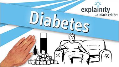 explainity® Erklärvideo - Diabetes einfach erklärt - Ein Unterrichtsmedium auf DVD