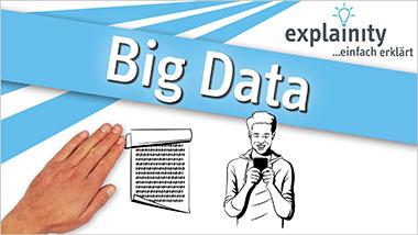 explainity® Erklärvideo - Big Data einfach erklärt - Ein Unterrichtsmedium auf DVD
