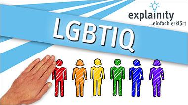 explainity® Erklärvideo - LGBTIQ einfach erklärt - Ein Unterrichtsmedium auf DVD