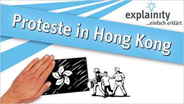 explainity® Erklärvideo -Proteste in Hongkong einfach erklärt - Ein Unterrichtsmedium auf DVD