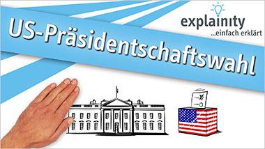 explainity® Erklärvideo -  US-Präsidentschaftswahl einfach erklärt - Ein Unterrichtsmedium auf DVD