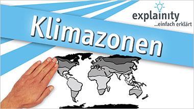 explainity® Erklärvideo - Klimazonen einfach erklärt - Ein Unterrichtsmedium auf DVD