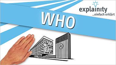 explainity® Erklärvideo - WHO einfach erklärt - Ein Unterrichtsmedium auf DVD