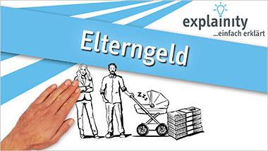 explainity® Erklärvideo - Elterngeld einfach erklärt - Ein Unterrichtsmedium auf DVD