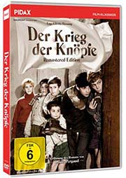 Der Krieg der Knöpfe - Remastered Edition - Ein Unterrichtsmedium auf DVD