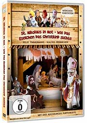 St. Nikolaus in Not & Wie das Eselchen das Christkind suchte (s/w) - Ein Unterrichtsmedium auf DVD