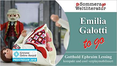 Emilia Galotti to go - Ein Unterrichtsmedium auf DVD