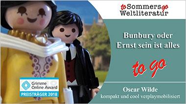 Bunbury oder Ernst sein ist alles to go - Ein Unterrichtsmedium auf DVD