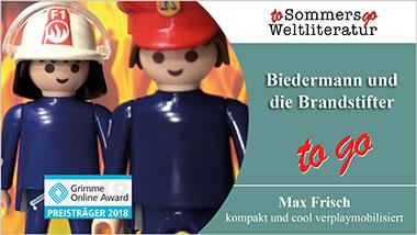 Biedermann und die Brandstifter to go - Ein Unterrichtsmedium auf DVD