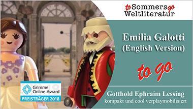 Emilia Galotti to go (English Version) - Ein Unterrichtsmedium auf DVD