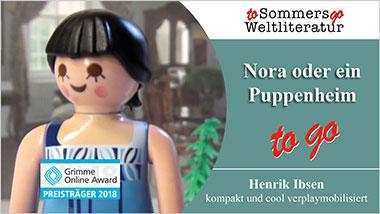 Nora oder ein Puppenheim to go - Ein Unterrichtsmedium auf DVD