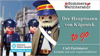 Der Hauptmann von Köpenick to go - Ein Unterrichtsmedium auf DVD