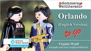 Orlando to go (English Version) - Ein Unterrichtsmedium auf DVD
