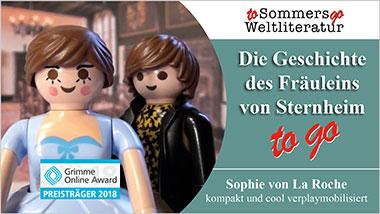 Die Geschichte des Fräuleins von Sternheim to go - Ein Unterrichtsmedium auf DVD