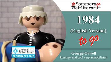 1984 to go (English Version) - Ein Unterrichtsmedium auf DVD