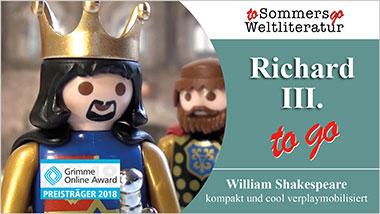 Richard III. to go - Ein Unterrichtsmedium auf DVD
