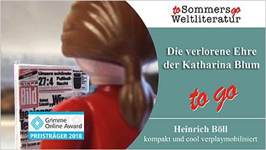 Die verlorene Ehre der Katharina Blum to go - Ein Unterrichtsmedium auf DVD