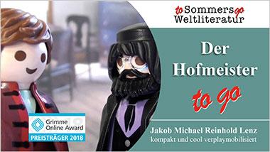 Der Hofmeister to go - Ein Unterrichtsmedium auf DVD