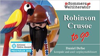Robinson Crusoe to go - Ein Unterrichtsmedium auf DVD