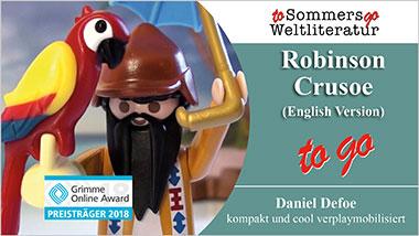 Robinson Crusoe to go (English Version) - Ein Unterrichtsmedium auf DVD