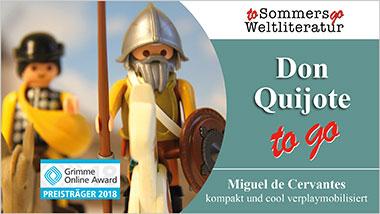 Don Quijote to go - Ein Unterrichtsmedium auf DVD