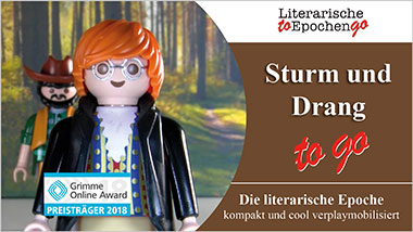 Sturm und Drang to go - Ein Unterrichtsmedium auf DVD