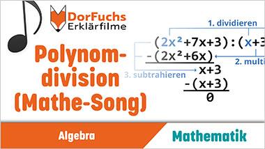 Polynomdivision (Mathe-Song) - Ein Unterrichtsmedium auf DVD