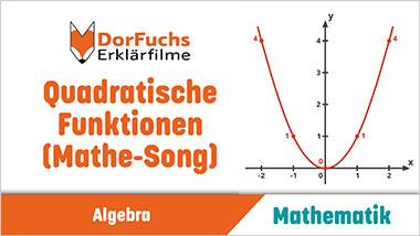 Quadratische Funktionen (Mathe-Song) - Ein Unterrichtsmedium auf DVD