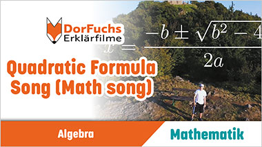 Quadratic Formula Song (Math song) - Ein Unterrichtsmedium auf DVD
