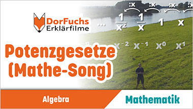Potenzgesetze (Mathe-Song) - Ein Unterrichtsmedium auf DVD