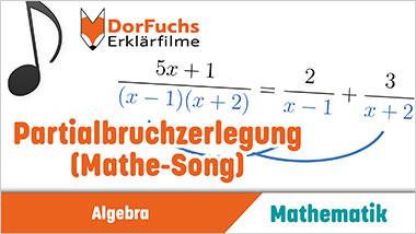 Partialbruchzerlegung (Mathe-Song) - Ein Unterrichtsmedium auf DVD