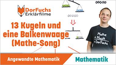 13 Kugeln und eine Balkenwaage (Mathe-Song) - Ein Unterrichtsmedium auf DVD