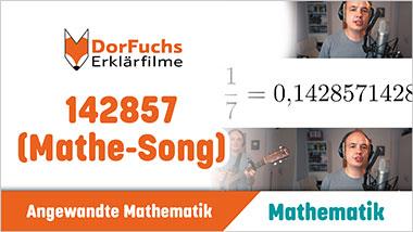 142857 (Mathe-Song) - Ein Unterrichtsmedium auf DVD