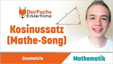 Kosinussatz (Mathe-Song) - Ein Unterrichtsmedium auf DVD