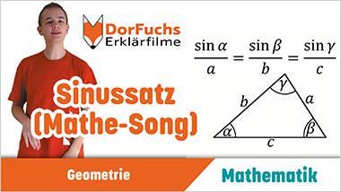 Sinussatz (Mathe-Song) - Ein Unterrichtsmedium auf DVD