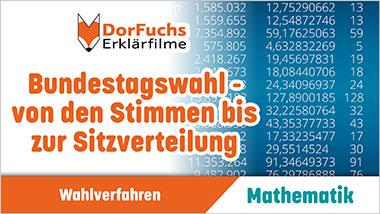 Bundestagswahl - von den Stimmen bis zur Sitzverteilung - Ein Unterrichtsmedium auf DVD
