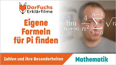 Eigene Formeln f�r Pi finden - Ein Unterrichtsmedium auf DVD