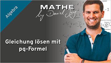 Gleichung lösen mit pq-Formel - Ein Unterrichtsmedium auf DVD