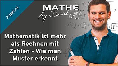 Mathematik ist mehr als Rechnen mit Zahlen - Wie man Muster erkennt - Ein Unterrichtsmedium auf DVD