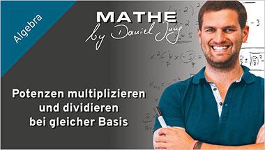 Potenzen multiplizieren und dividieren bei gleicher Basis - Ein Unterrichtsmedium auf DVD