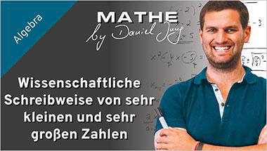 Wissenschaftliche Schreibweise von sehr kleinen und sehr gro�en Zahlen - Ein Unterrichtsmedium auf DVD