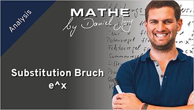 Substitution Bruch e^x - Ein Unterrichtsmedium auf DVD
