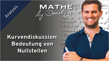Kurvendiskussion: Bedeutung von Nullstellen - Ein Unterrichtsmedium auf DVD