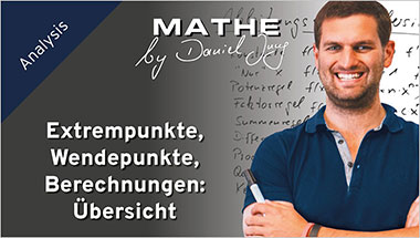 Extrempunkte, Wendepunkte, Berechnungen: �bersicht - Ein Unterrichtsmedium auf DVD