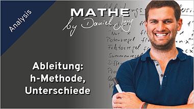 Ableitung: h-Methode, Unterschiede - Ein Unterrichtsmedium auf DVD