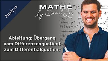 Ableitung: Übergang vom Differenzenquotient zum Differentialquotient - Ein Unterrichtsmedium auf DVD