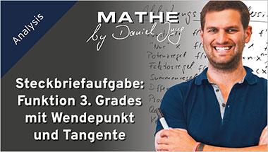 Steckbriefaufgabe: Funktion 3. Grades mit Wendepunkt und Tangente - Ein Unterrichtsmedium auf DVD