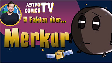 5 Fakten über Merkur - Ein Unterrichtsmedium auf DVD